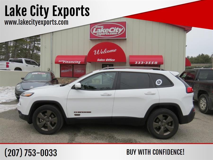 Used Jeep Cherokee Latitude 4x4 4dr SUV 2016 | Lake City Exports Inc. Auburn, Maine