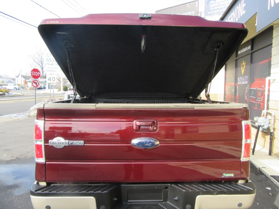 """Used Ford F-150 4WD SuperCrew 145"""" King Ranch 2010   Royalty Auto Sales. Little Ferry, New Jersey"""