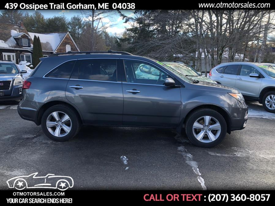 Used Acura MDX AWD 4dr Tech Pkg 2012 | Ossipee Trail Motor Sales. Gorham, Maine