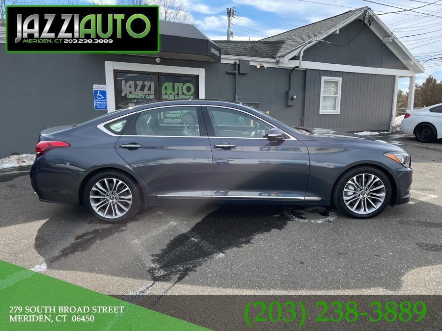 Used 2017 Genesis G80 in Meriden, Connecticut | Jazzi Auto Sales LLC. Meriden, Connecticut