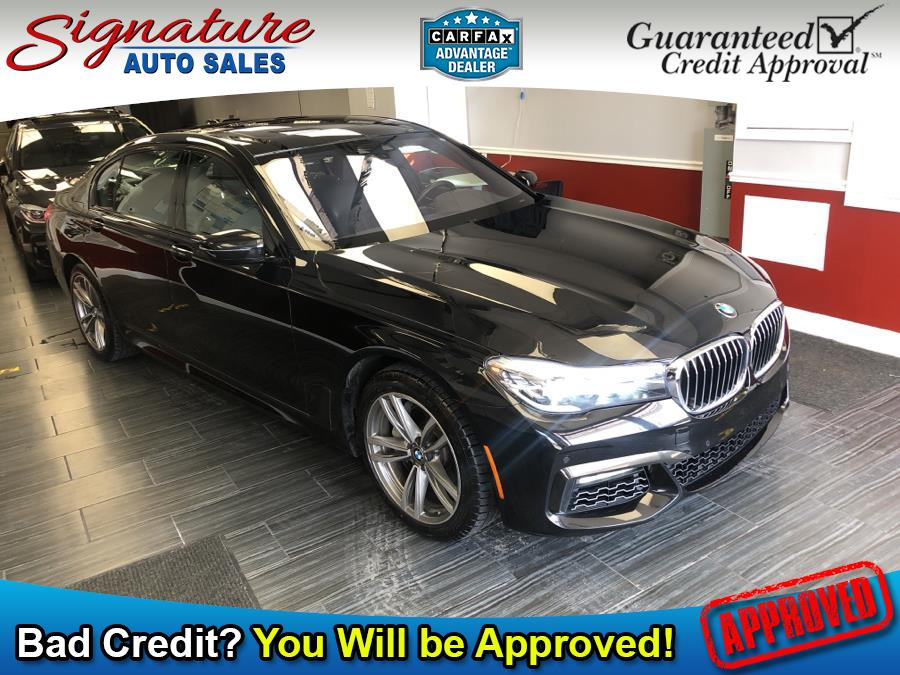 Used 2019 BMW 7 Series in Franklin Square, New York | Signature Auto Sales. Franklin Square, New York