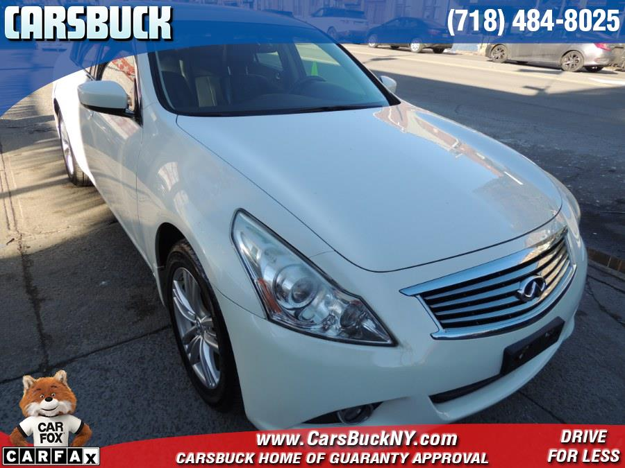 Used 2012 INFINITI G25 Sedan in Brooklyn, New York | Carsbuck Inc.. Brooklyn, New York