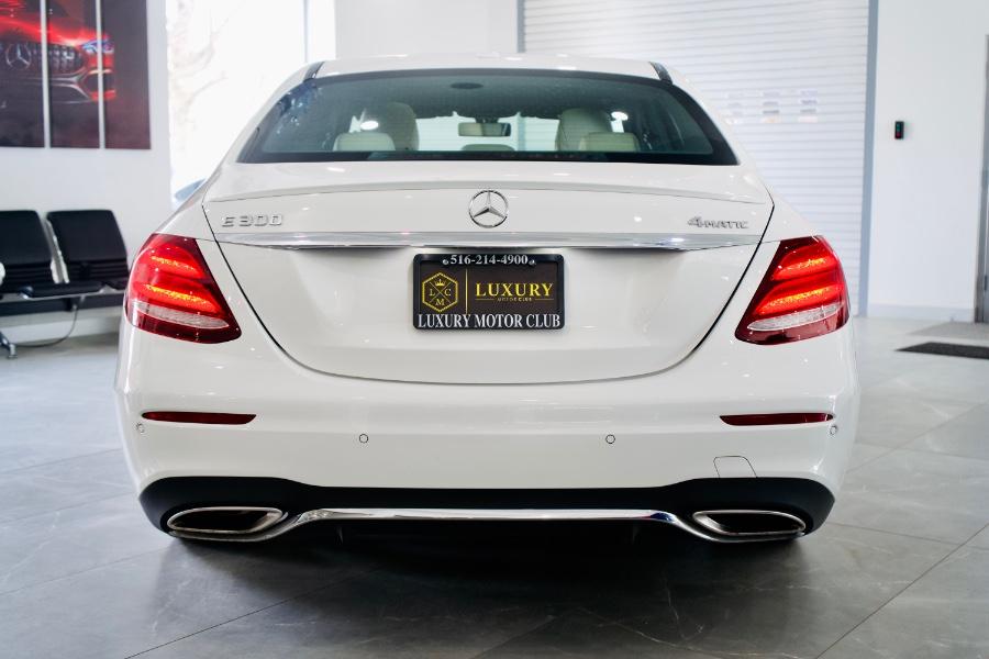 Used Mercedes-Benz E-Class E 300 Sport 4MATIC Sedan 2017 | Luxury Motor Club. Franklin Square, New York