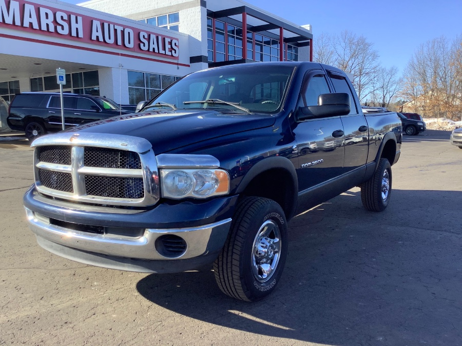 "Used Dodge Ram 2500 4dr Quad Cab 140.5"" WB 4WD ST 2004 