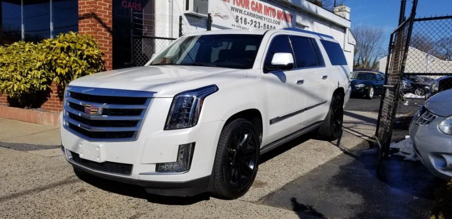 Used 2016 Cadillac Escalade ESV in Baldwin, New York | Carmoney Auto Sales. Baldwin, New York