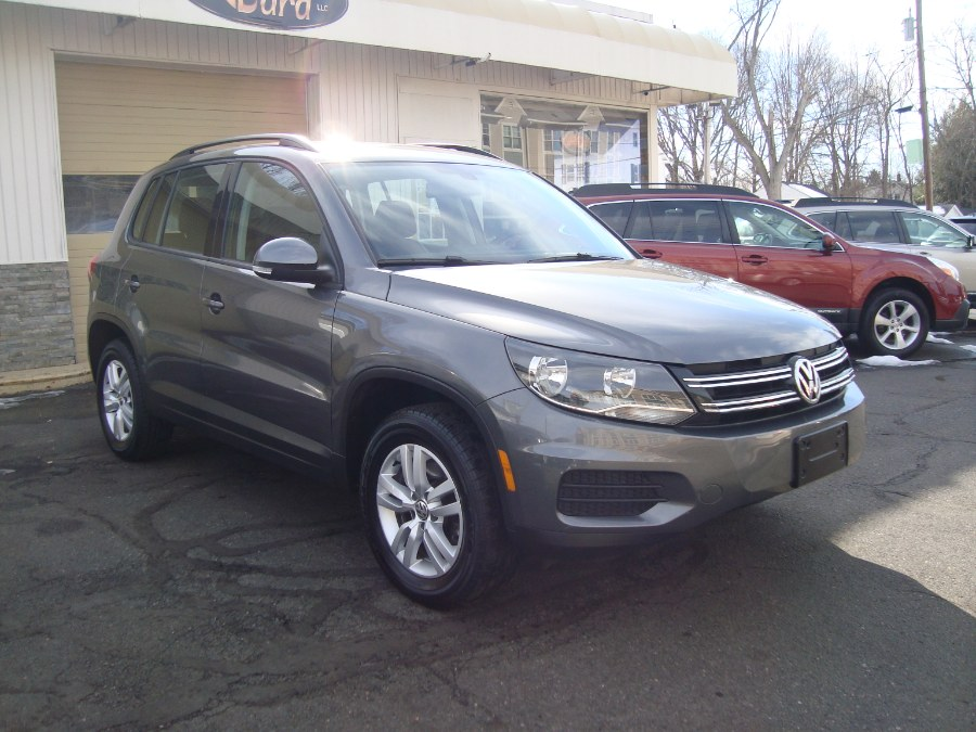 Used Volkswagen Tiguan 4MOTION 4dr Auto R-Line 2016 | Yara Motors. Manchester, Connecticut