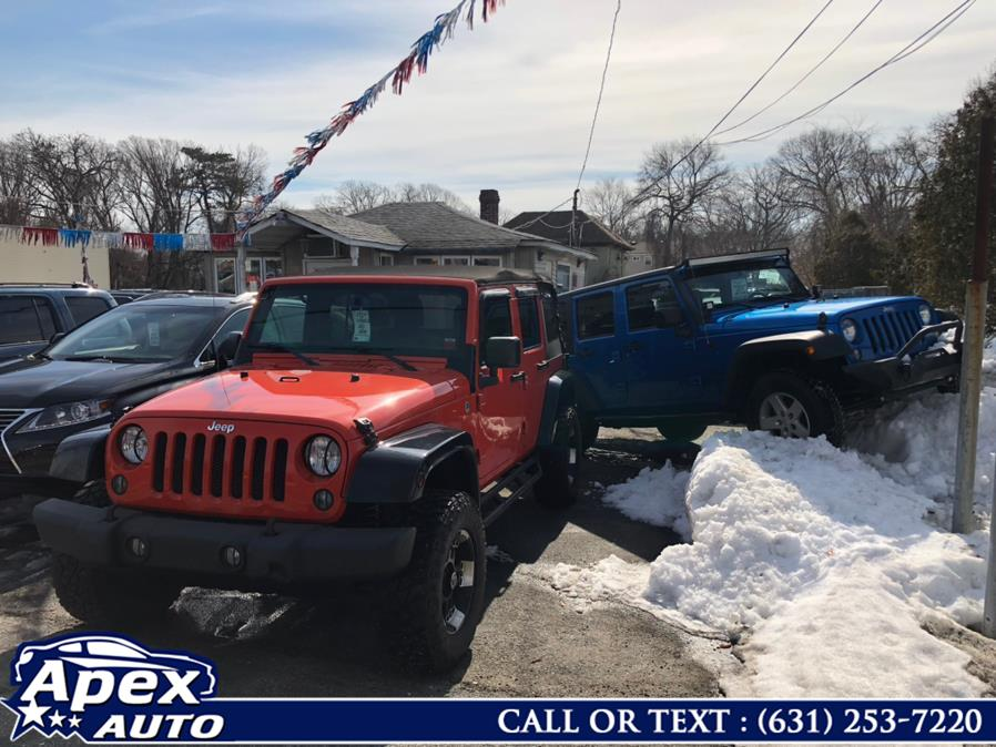 Used Jeep Wrangler Unlimited 4WD 4dr Sport 2015   Apex Auto. Selden, New York