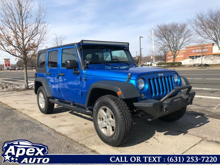 Used 2015 Jeep Wrangler Unlimited in Selden, New York | Apex Auto. Selden, New York