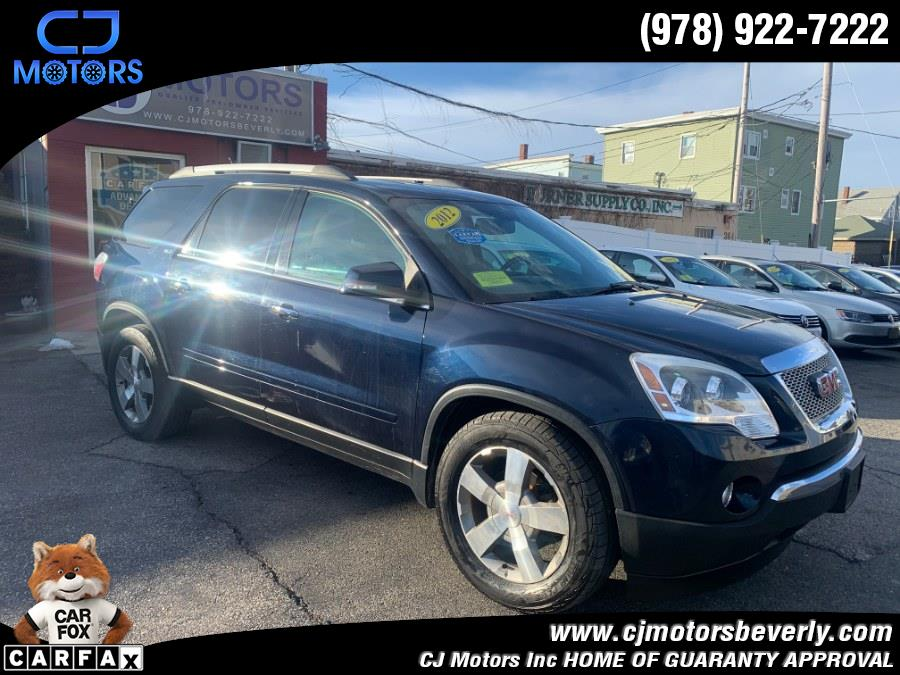 Used 2012 GMC Acadia in Beverly, Massachusetts | CJ Motors Inc. Beverly, Massachusetts