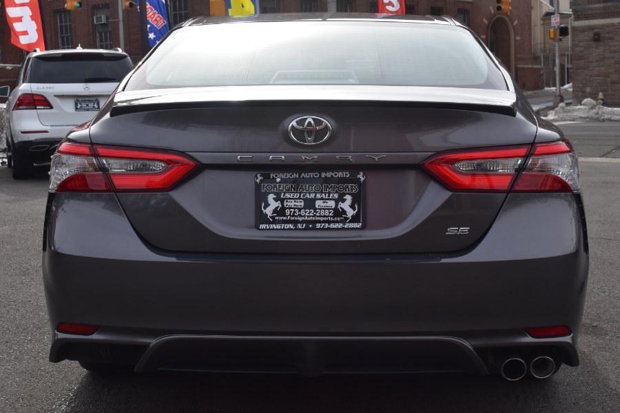 Used Toyota Camry SE Auto (Natl) 2018   Foreign Auto Imports. Irvington, New Jersey