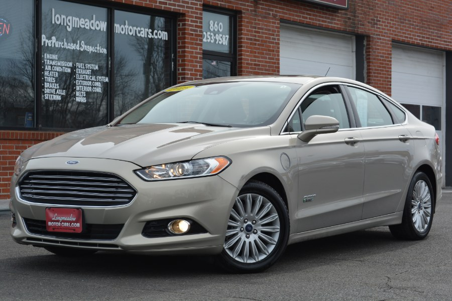 Used 2015 Ford Fusion Energi in ENFIELD, Connecticut | Longmeadow Motor Cars. ENFIELD, Connecticut