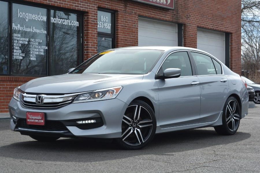 Used 2016 Honda Accord Sedan in ENFIELD, Connecticut | Longmeadow Motor Cars. ENFIELD, Connecticut
