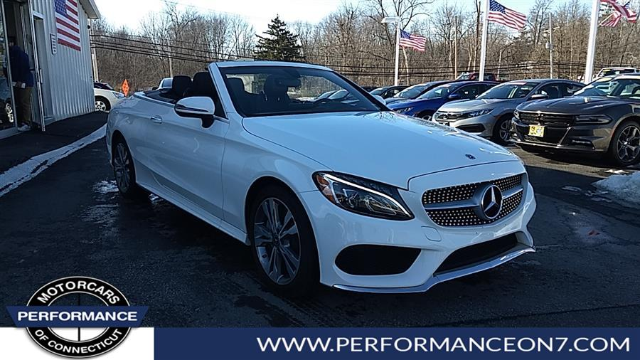 Used Mercedes-Benz C-Class C 300 4MATIC Cabriolet 2018 | Performance Motor Cars. Wilton, Connecticut