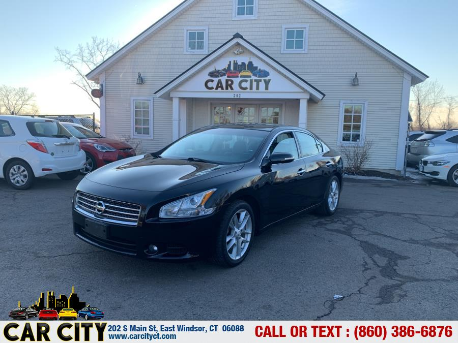 Used Nissan Maxima 4dr Sdn V6 CVT 3.5 SV w/Premium Pkg 2011 | Car City LLC. East Windsor, Connecticut