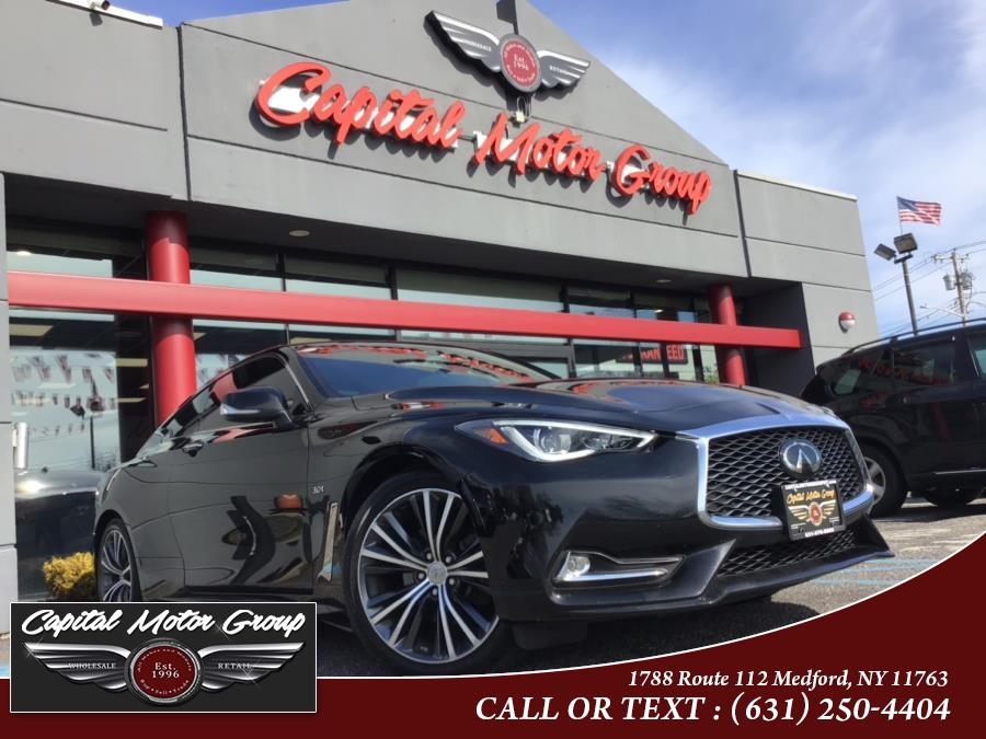 Used INFINITI Q60 3.0t LUXE AWD 2019 | Capital Motor Group Inc. Medford, New York