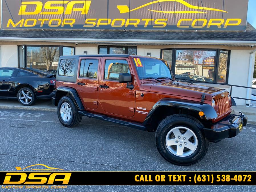 Used Jeep Wrangler Unlimited 4WD 4dr Sport 2014 | DSA Motor Sports Corp. Commack, New York