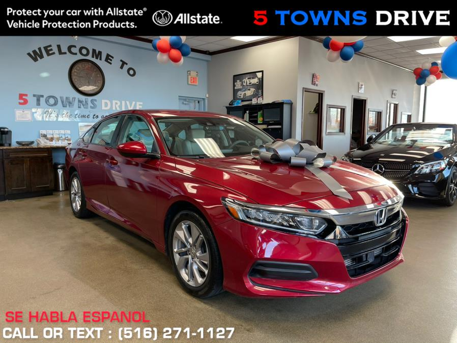 Used Honda Accord Sedan LX 1.5T CVT 2018 | 5 Towns Drive. Inwood, New York