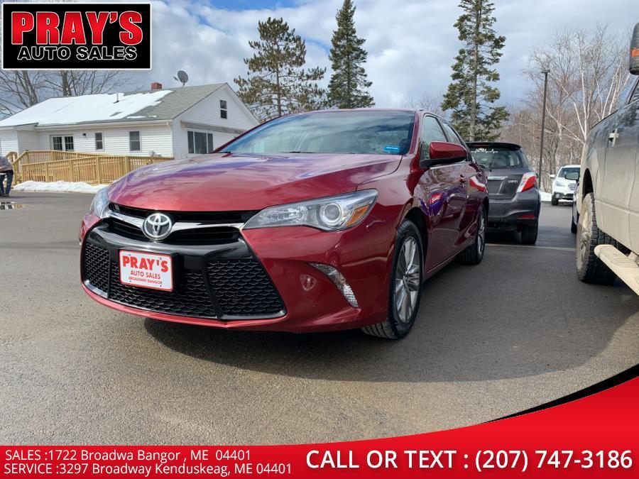 Used 2015 Toyota Camry in Bangor , Maine | Pray's Auto Sales . Bangor , Maine