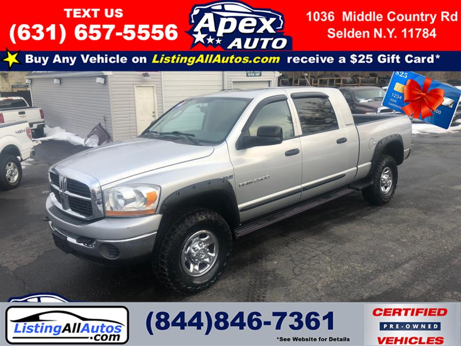 Used Dodge Ram 2500 4dr Mega Cab 160.5 4WD SLT 2006 | www.ListingAllAutos.com. Patchogue, New York