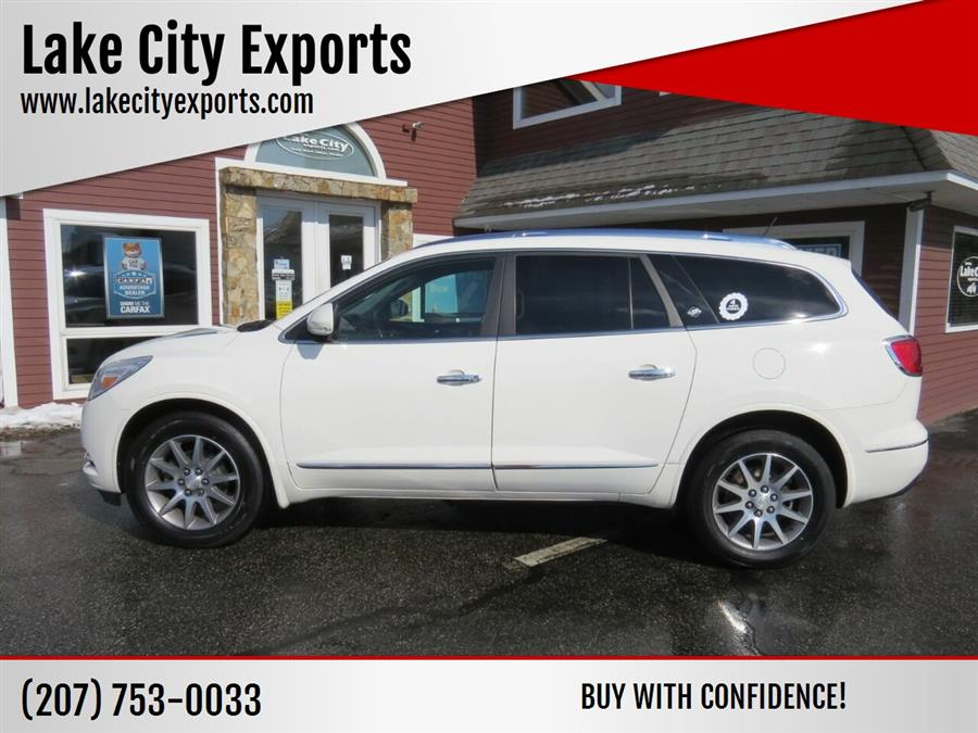 Used Buick Enclave Leather AWD 4dr Crossover 2015 | Lake City Exports Inc. Auburn, Maine