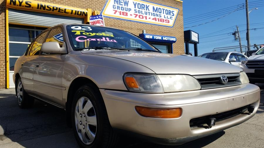 Used 1993 Toyota Corolla in Bronx, New York | New York Motors Group Solutions LLC. Bronx, New York