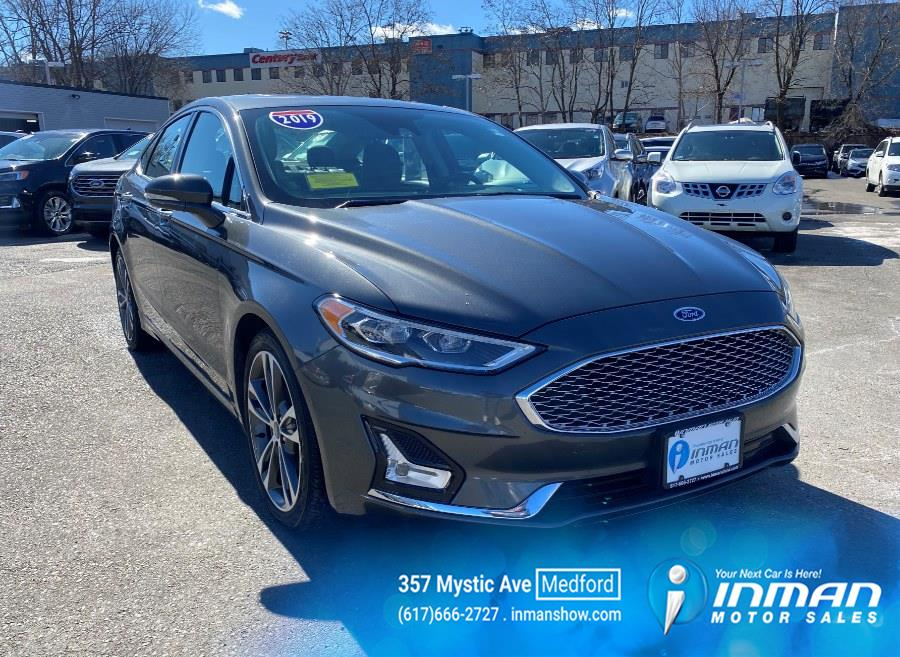 Used 2019 Ford Fusion in Medford, Massachusetts | Inman Motors Sales. Medford, Massachusetts