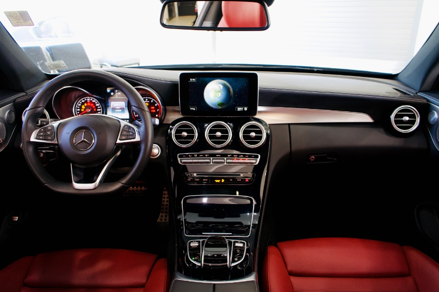 Used Mercedes-Benz C-Class C300 4MATIC Coupe 2017 | Luxury Motor Club. Franklin Square, New York