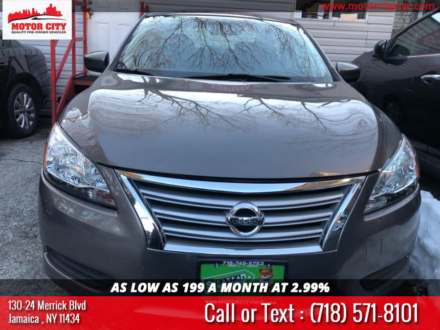 Used 2015 Nissan Sentra in Jamaica, New York | Motor City. Jamaica, New York