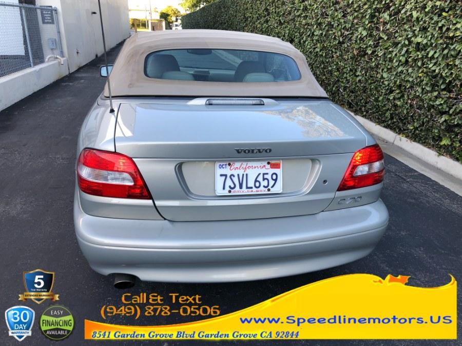 Used Volvo C70 2dr Conv 2.3L Turbo Auto 2004 | Speedline Motors. Garden Grove, California