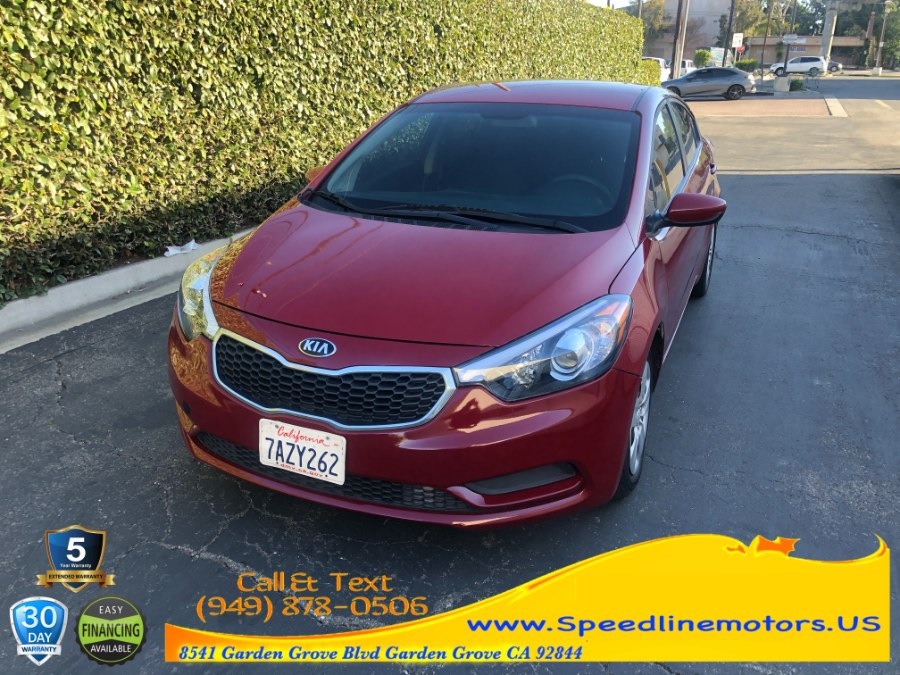 Used 2016 Kia Forte in Garden Grove, California | Speedline Motors. Garden Grove, California