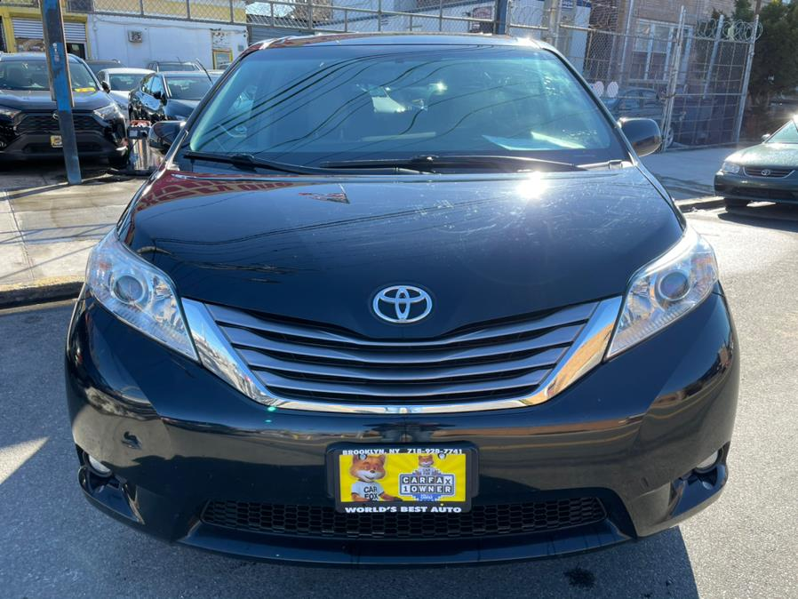 2015 Toyota Sienna 5dr 7-Pass Van XLE AWD (Natl), available for sale in Brooklyn, NY