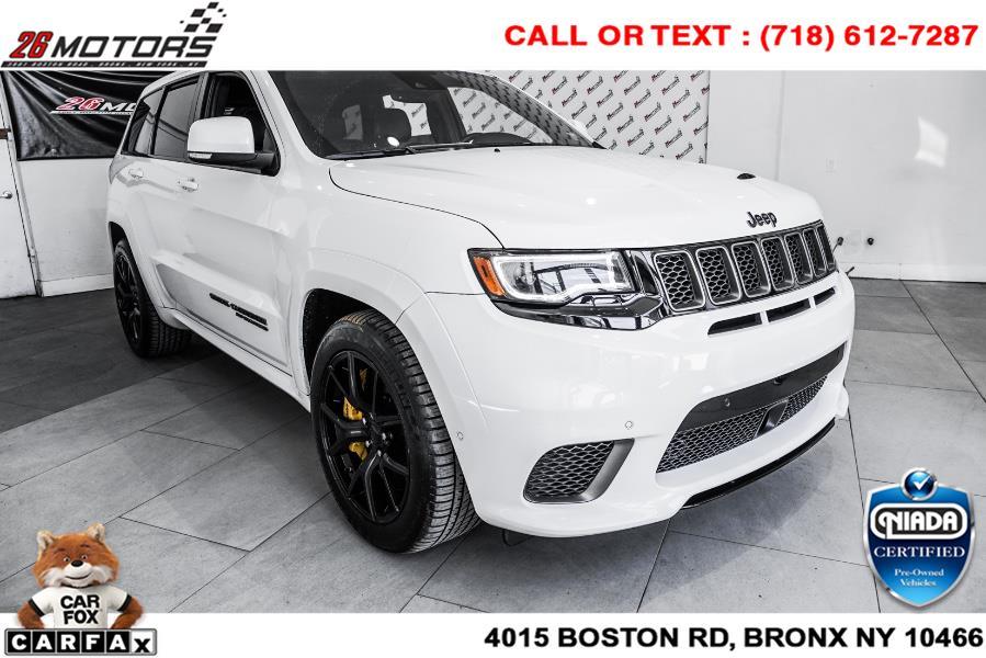 Used Jeep Grand Cherokee Trackhawk 4x4 *Ltd Avail* 2018   26 Motors Corp. Bronx, New York