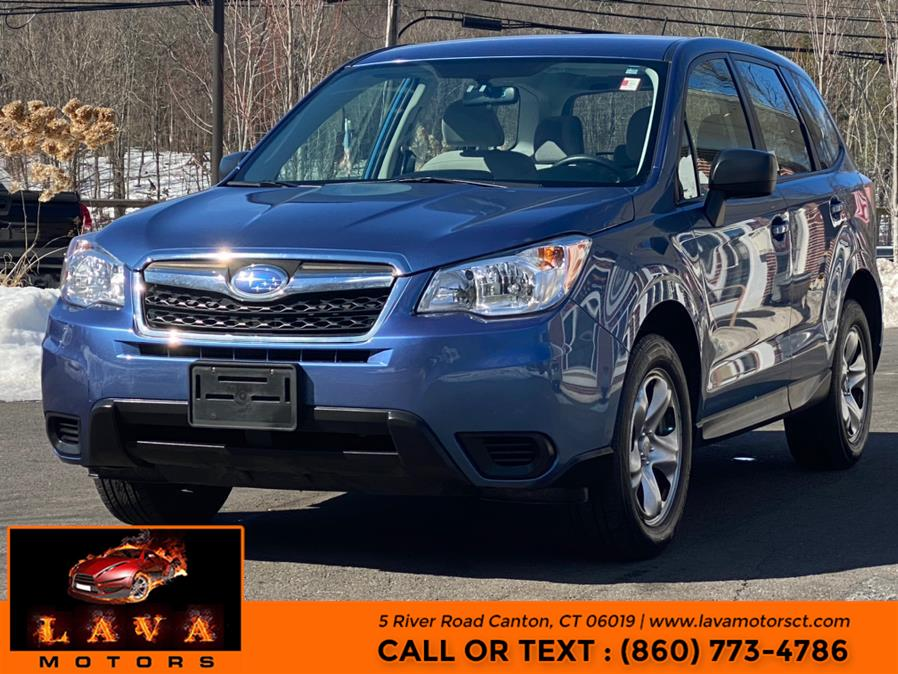 Used 2015 Subaru Forester in Canton, Connecticut | Lava Motors. Canton, Connecticut