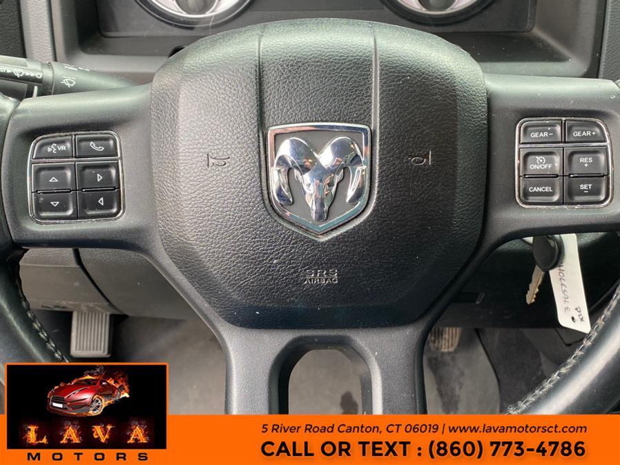 "Used Ram 1500 4WD Quad Cab 140.5"" Big Horn 2014 | Lava Motors. Canton, Connecticut"