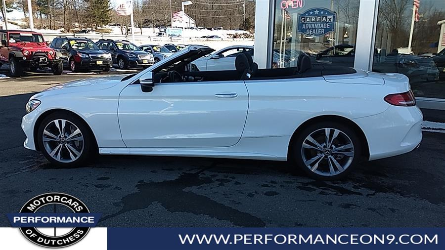 Used Mercedes-Benz C-Class C 300 4MATIC Cabriolet 2018 | Performance Motorcars Inc. Wappingers Falls, New York
