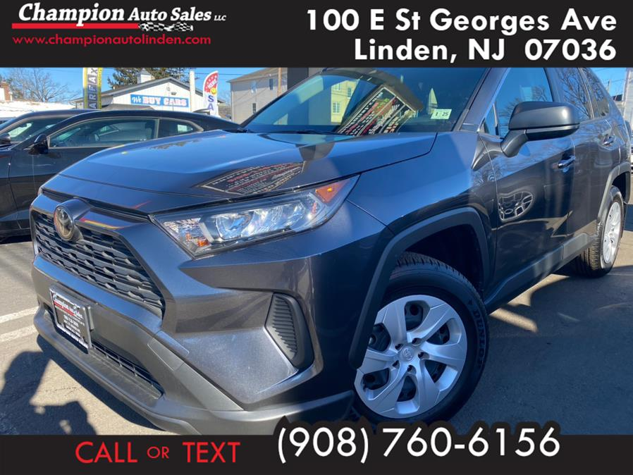 Used 2020 Toyota RAV4 in Linden, New Jersey | Champion Used Auto Sales. Linden, New Jersey