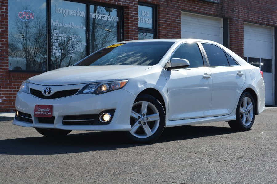 Used 2014 Toyota Camry in ENFIELD, Connecticut | Longmeadow Motor Cars. ENFIELD, Connecticut