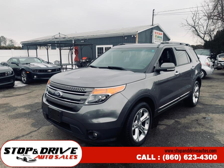 Used Ford Explorer 4WD 4dr Limited 2014 | Stop & Drive Auto Sales. East Windsor, Connecticut