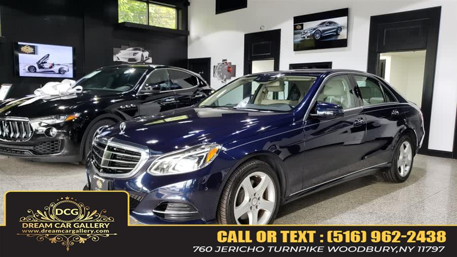 Used Mercedes-Benz E-Class 4dr Sdn E350 Sport 4MATIC 2014 | Dream Car Gallery. Woodbury, New York