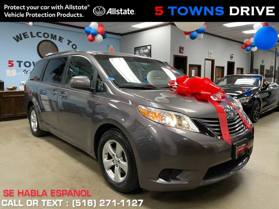 2017 Toyota Sienna LE FWD 7-Passenger (Natl), available for sale in Inwood, NY