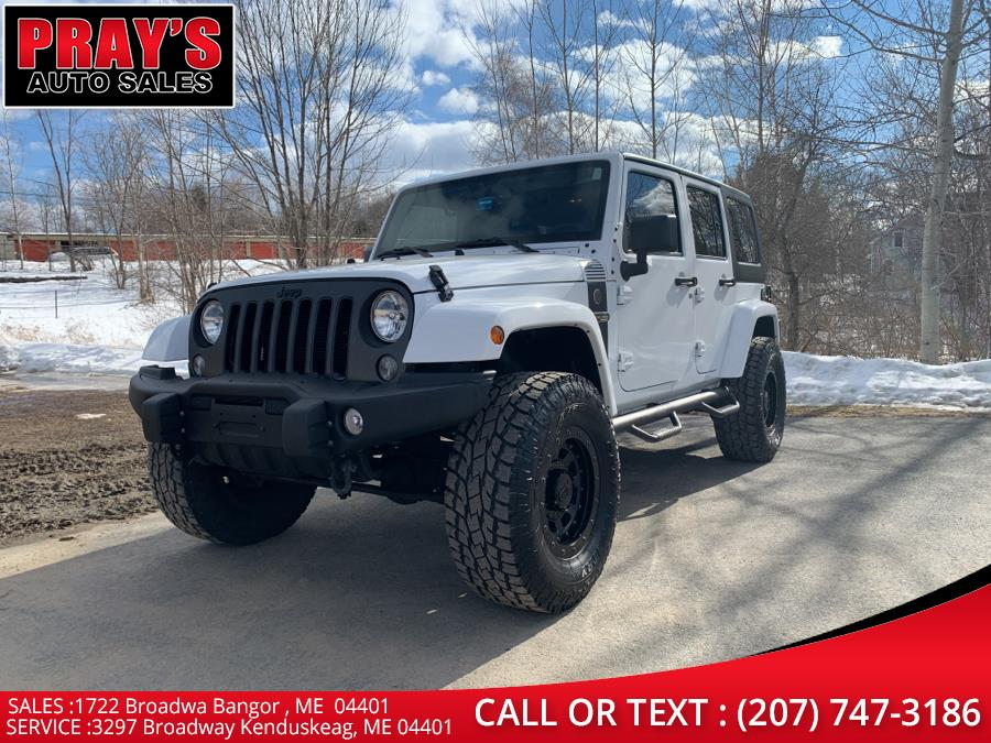 Used 2018 Jeep Wrangler JK Unlimited in Bangor , Maine | Pray's Auto Sales . Bangor , Maine