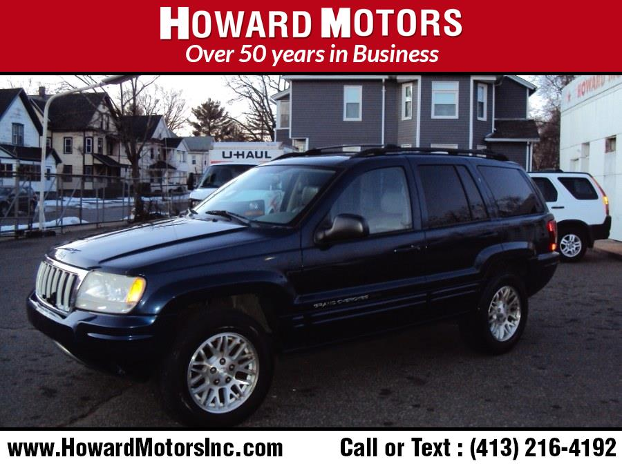 Used Jeep Grand Cherokee 4dr Limited 4WD 2004   Howard Motors. Springfield, Massachusetts
