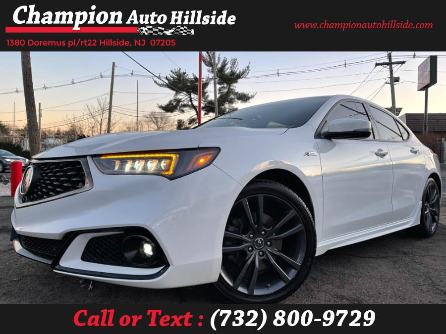 Used 2018 Acura TLX in Hillside, New Jersey | Champion Auto Sales. Hillside, New Jersey