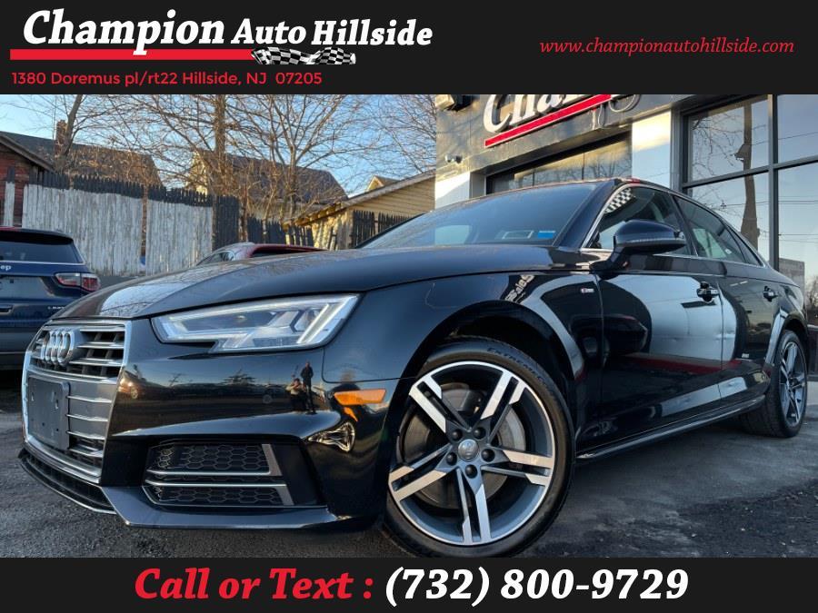 Used 2018 Audi A4 in Hillside, New Jersey | Champion Auto Sales. Hillside, New Jersey