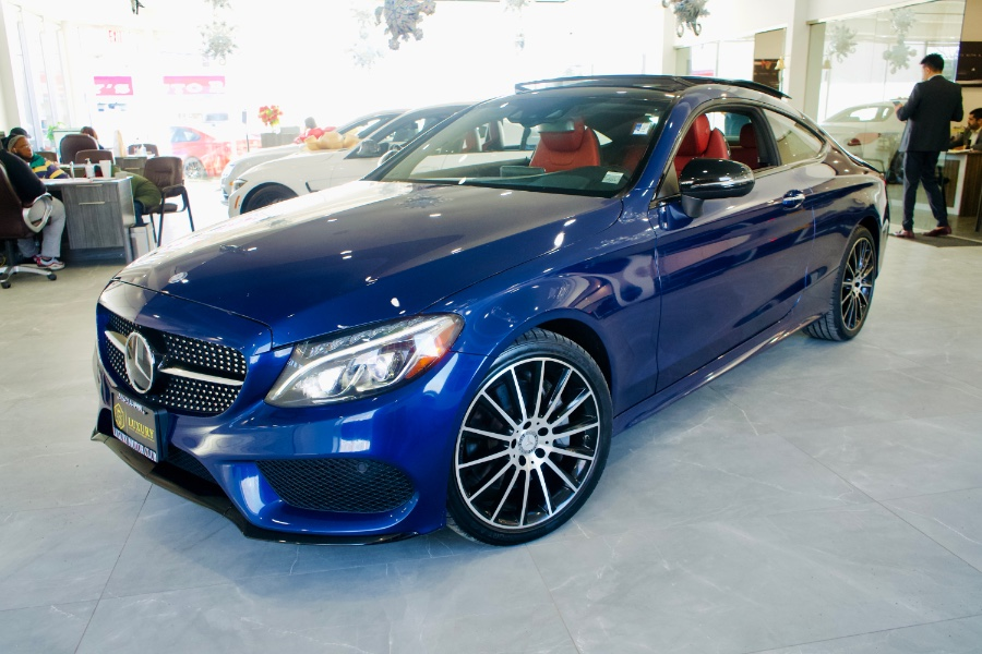 Used Mercedes-Benz C-Class C300 4MATIC Coupe 2017 | C Rich Cars. Franklin Square, New York