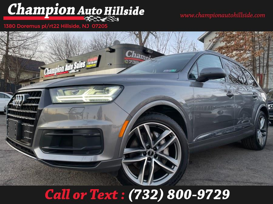 Used 2017 Audi Q7 in Hillside, New Jersey | Champion Auto Hillside. Hillside, New Jersey