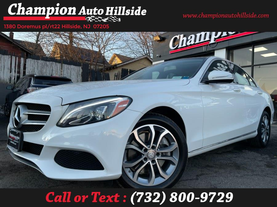 Used 2015 Mercedes-Benz C-Class in Hillside, New Jersey | Champion Auto Hillside. Hillside, New Jersey