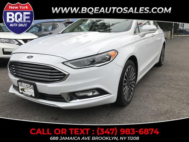 Used Ford Fusion Titanium 2018 | BQE Auto Sales. Brooklyn, New York