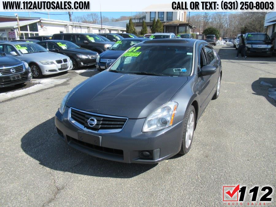 Used Nissan Maxima 4dr Sdn V6 CVT 3.5 SE 2007 | 112 Auto Sales. Patchogue, New York