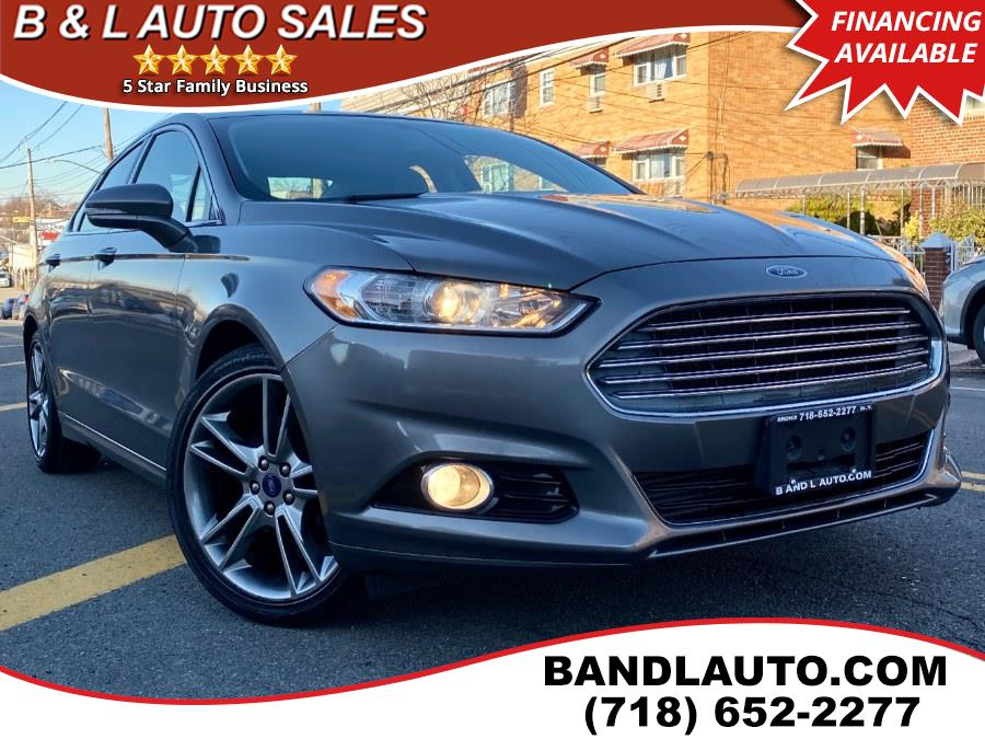 Used 2013 Ford Fusion in Bronx, New York | B & L Auto Sales LLC. Bronx, New York